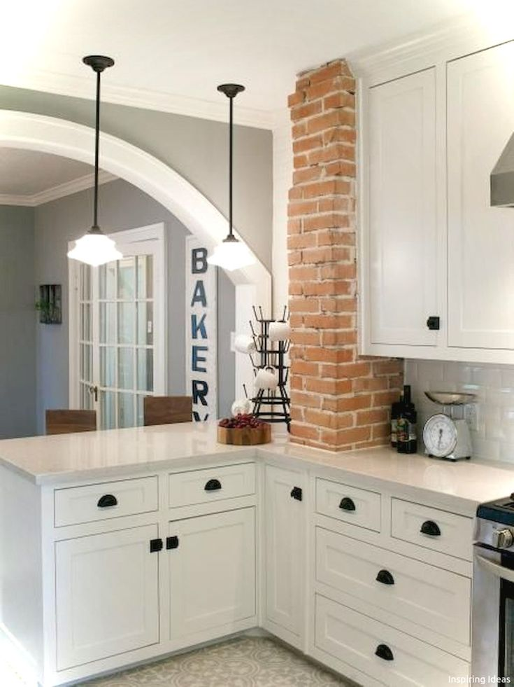 55 Genius Small Cottage Kitchen Design Ideas