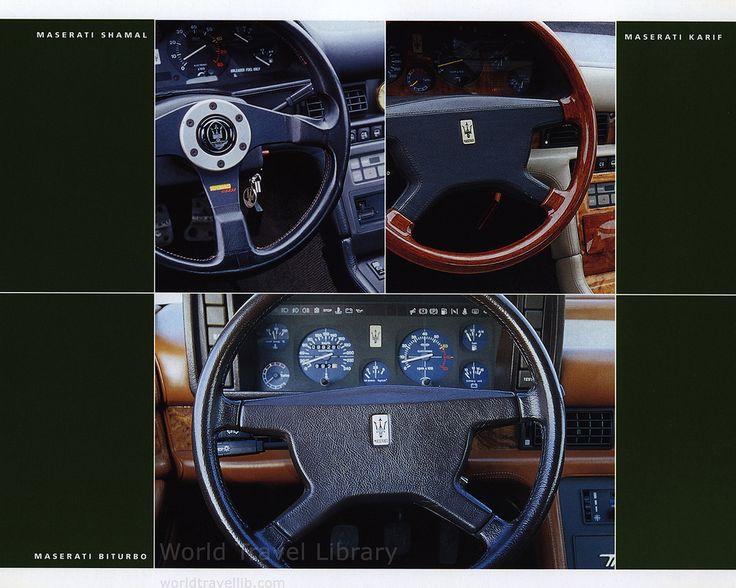 https://flic.kr/p/XjCKcB   Maserati Coupé, The History; 2004_16, Maserati Karif, Maserati Shamal, Maserati Biturbo