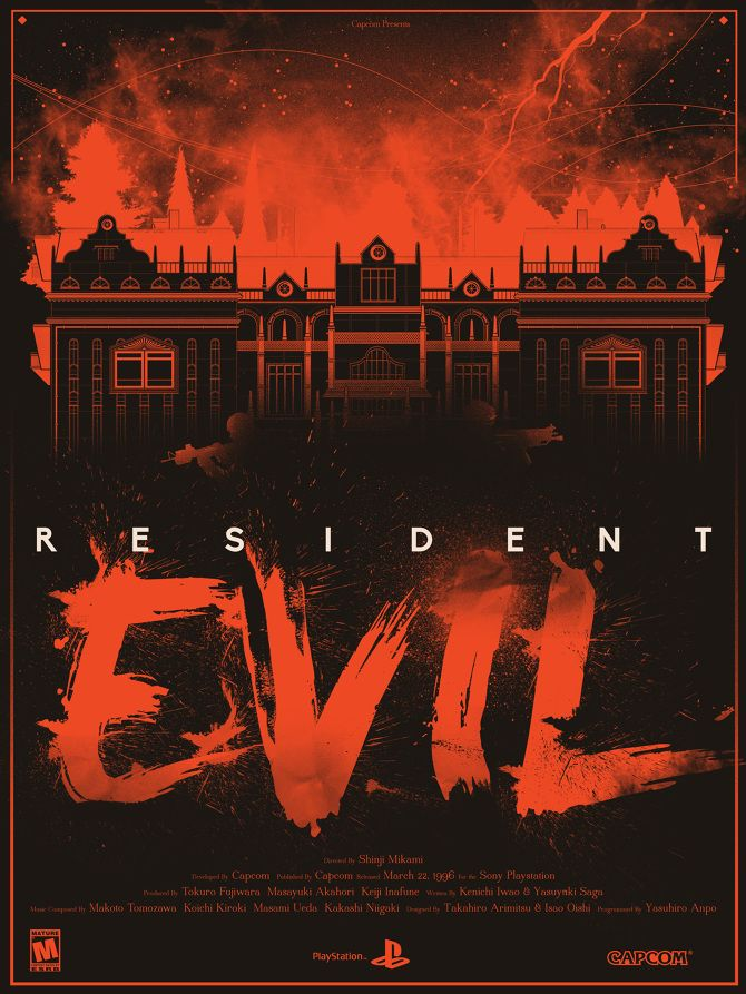 Resident Evil - Created by Marinko Milosevski You can purchase this as a print from the Artist's Shop.