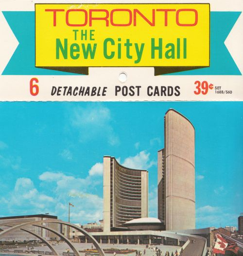 Toronto City Hall Postcards - 1985