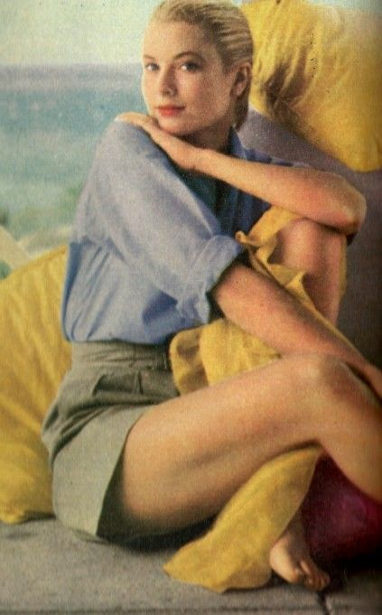 Grace Kelly wore shorts & cotton oxford shirts.... timeless, comfortable clothing & made for movement & fun.