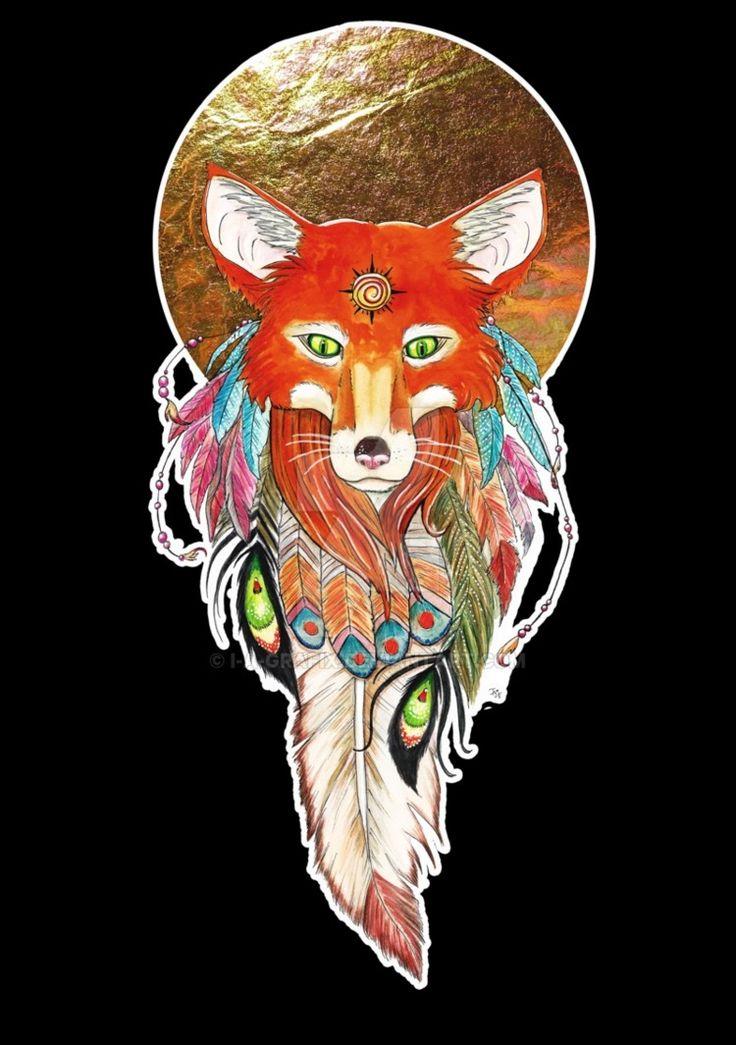 Fox Shirtdesign for my Spreadshirt Sop