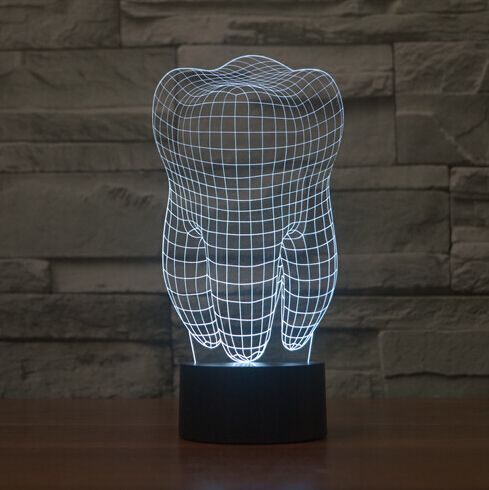 Amazing 3-D Night Light. #dentistry