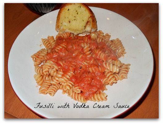 Vodka Cream Sauce | recipes | Pinterest