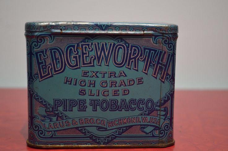 Edgeworth Pipe Tobacco Tin http://cnctbay.wix.com/crowe-s-nest