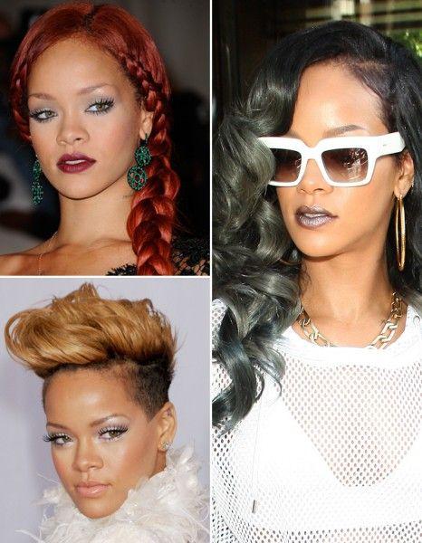 Rihanna : toutes ses coupes en images - Elle