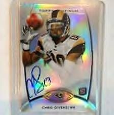 Chris Givens 2012 Topps Platinum #127 ROOKIE ON CARD AUTO mint from pack