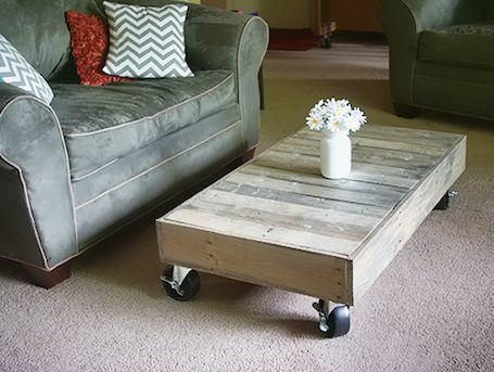 Wood Palette Coffee Table Tutorial