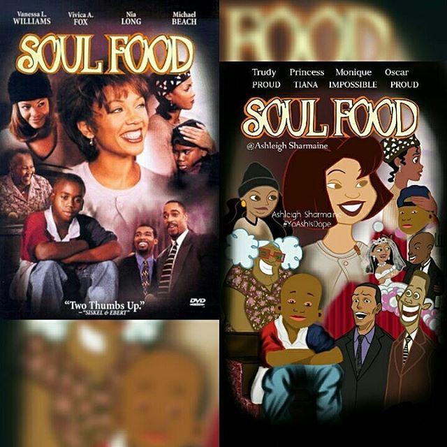 Soul Food By Ashleighsharmaine Michael Fox Trudy Caricature