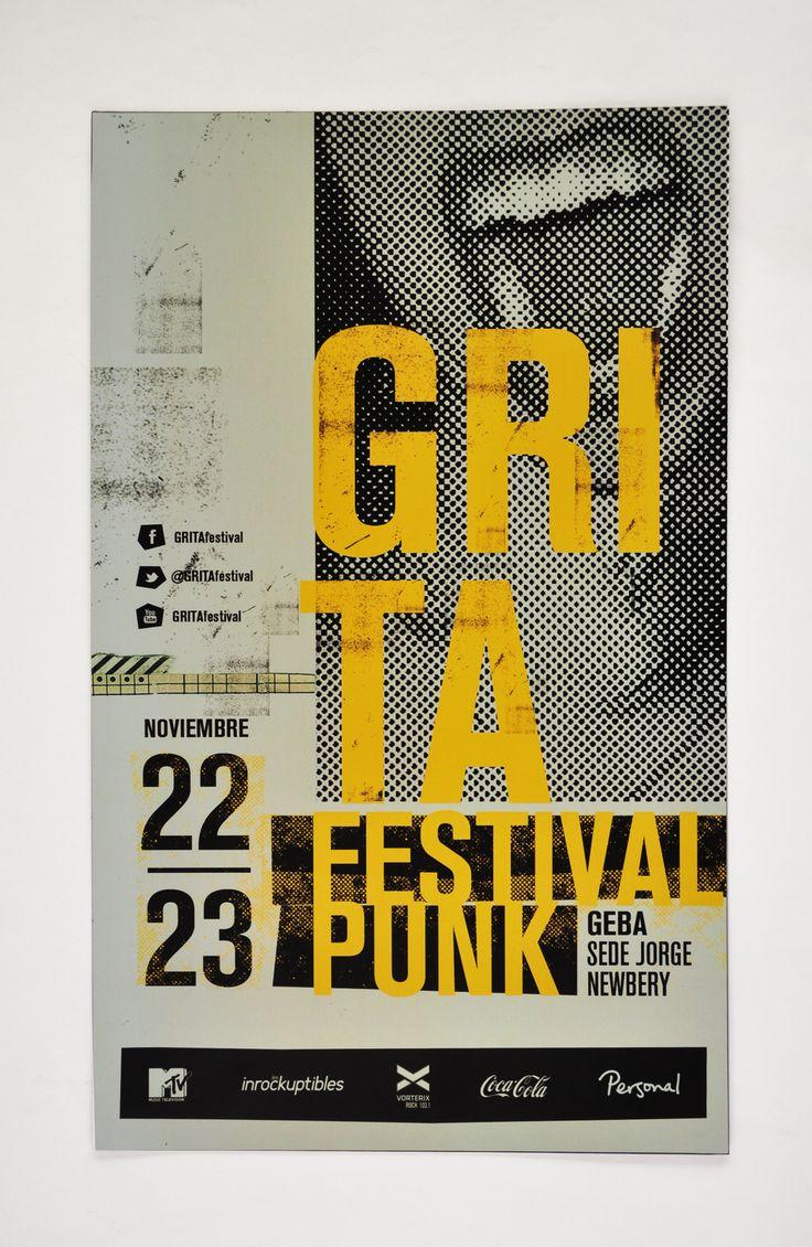 GRITA festival | Sistema gráfico on Behance