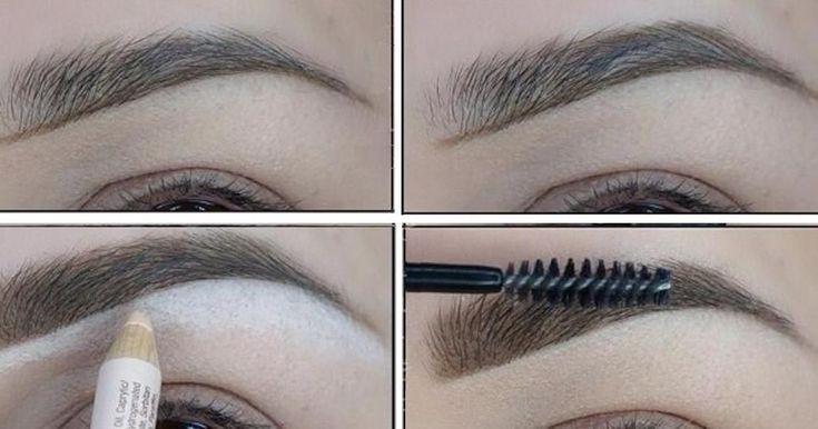 Pasos para lograr unas cejas hermosas, ¡no te lo pierdas! #maquillarcejas