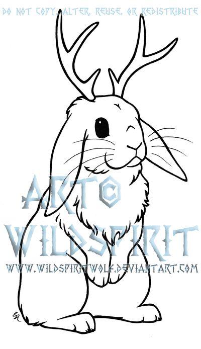 I am kinda digging the jackalope tattoos.... Save this for some inspiration!