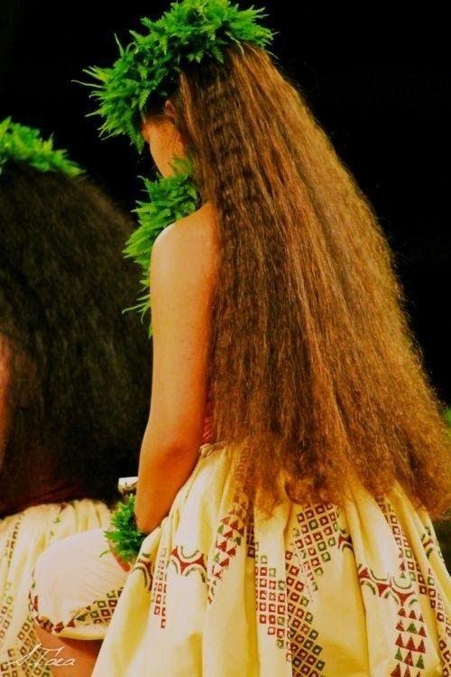 Hawaiian hair