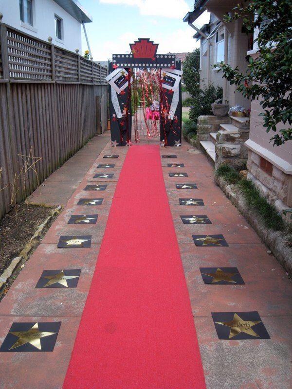 Rockstar entrance