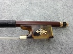 $109.99 New Full Size Violin Bow High Quality Brazilwood Gold Mounted Horse hair VB099