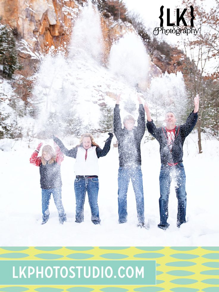 Winter Family Photography • LK Photography • lkphotostudio.com • http://www.pinterest.com/lkdesignphoto • Reedsburg, Wisconsin
