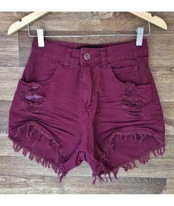 Resultado de imagem para shorts jeans cintura alta