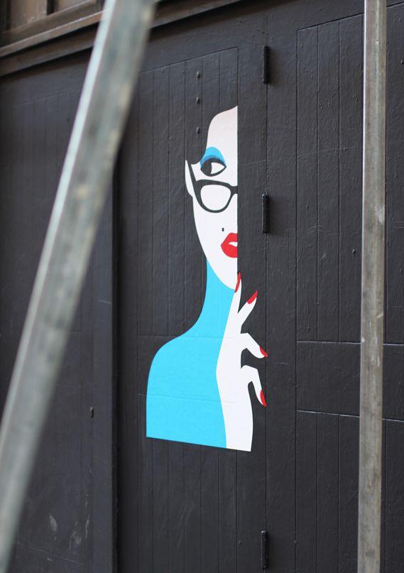 Malika Favre at KemistryGarages Doors, Art Crafts, Illustration Malika, Angel Favre, Street Art, Creative Review, Kemistri Cr Like, Art Posters, Kemistri Crlike