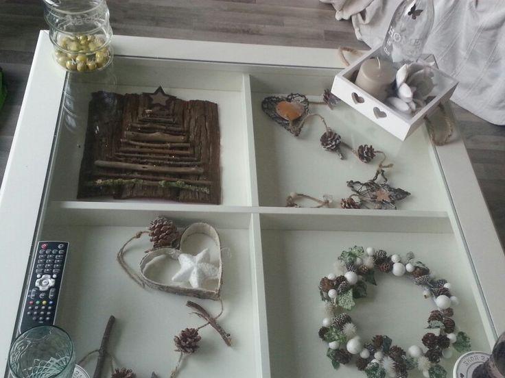 Mijn Ikea tafel - kerstmis