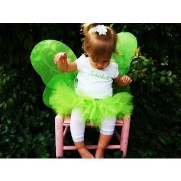 Tinkerbell inspired tutu costume - kids