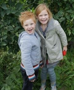 Onze twee kinderen, Tijl en Lieve