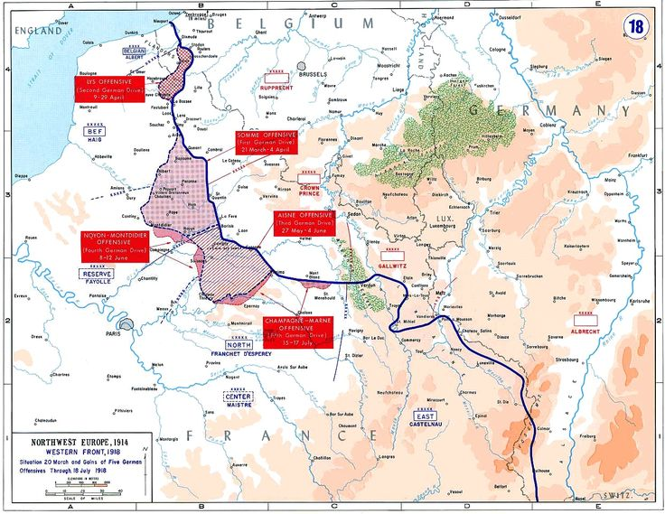 Spring 1918: Germany's last offensive  the Battle of Reims