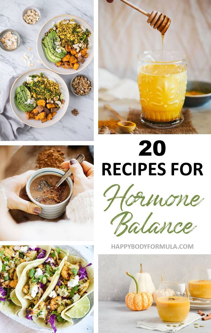 20 hormone balancing recipes to create the perfect diet