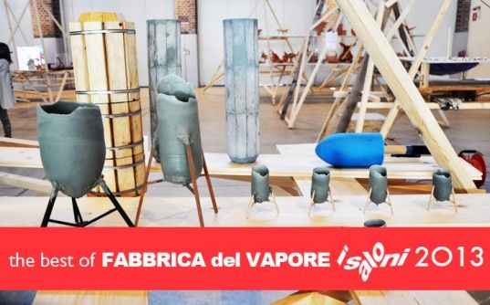 Designers Experiment with Green Materials and Methods at Fabbrica del Vapore During Milan Design Week 2013 | Inhabitat - Sustainable Design Innovation, Eco Architecture, Green Building