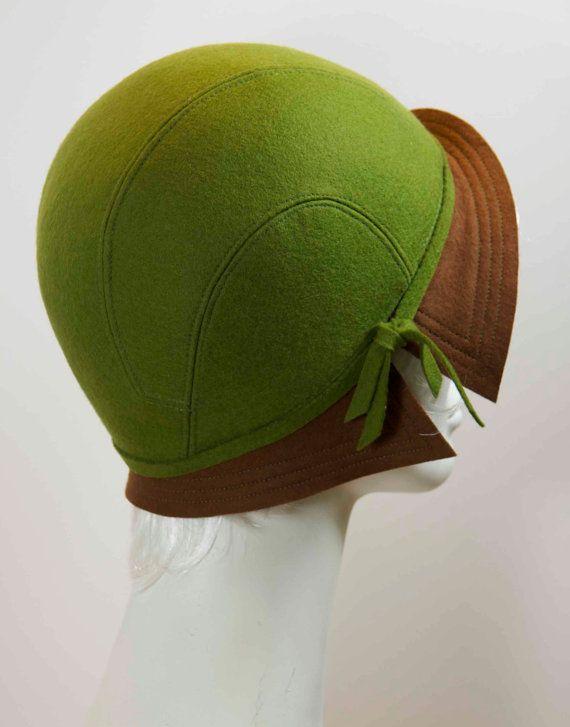Modèle de chapeau Cloche années 1930 Style par DLDesignsHatPatterns