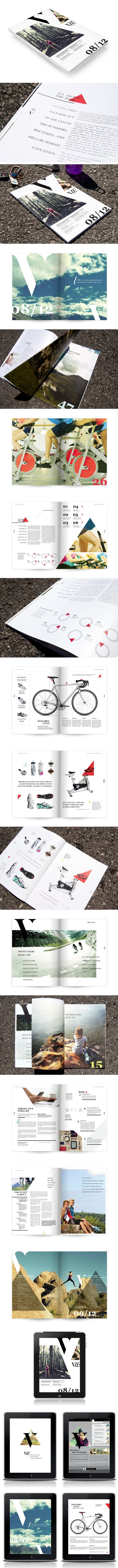 Vie Magazine by Caitlin Workman