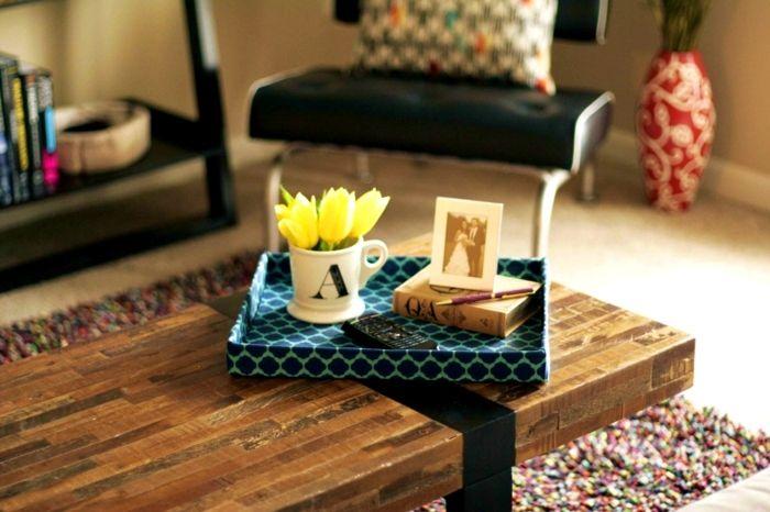 1001 Idees De Deco Table Basse Reussie Ou Comment Decorer La Table De Salon En 2020 Decoration Table Basse Carton Diy Deco Table Basse