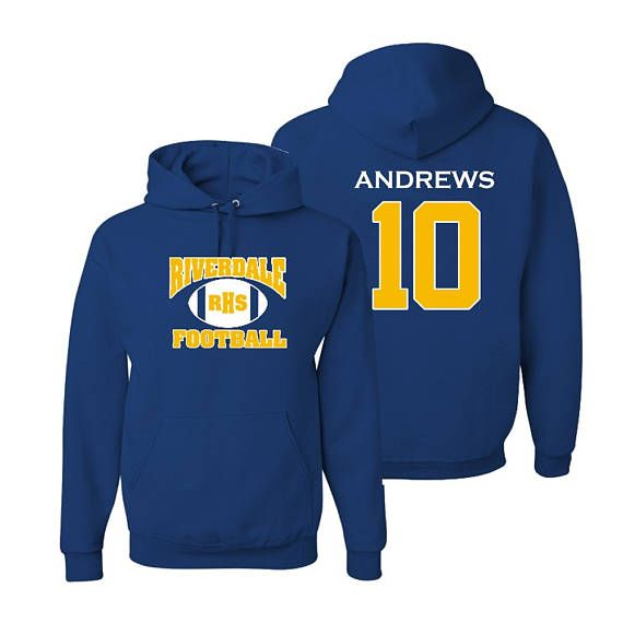Riverdale High School Andrews 10 Hooded Sweatshirt Small