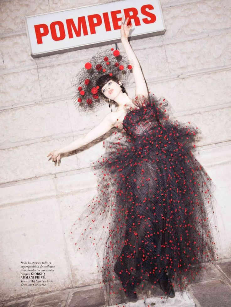 Lily McMenamy by Magnus Unnar for L'Officiel Paris October 2014