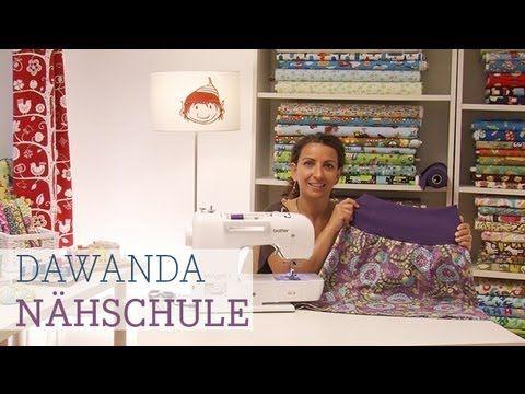 """Dawanda Nähschule: Bündchen annähen. Und dann gibt es noc viele andere Filme zum """"Nähen lernen"""" :-)"""