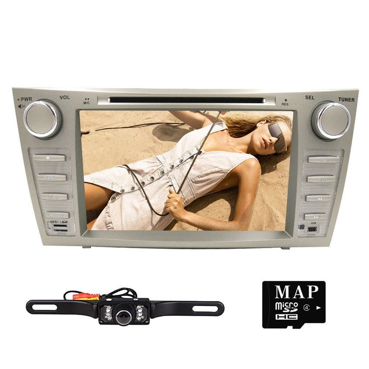 HIZPO Car DVD GPS 8Player Radio fit Toyota Camry 2007 2008 2009 2010 2011Camra