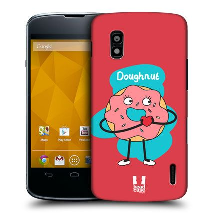 HEAD CASE DOUGHNUT PERFECT MATCH DESIGN HARD BACK CASE COVER FOR LG NEXUS 4 E960 | eBay