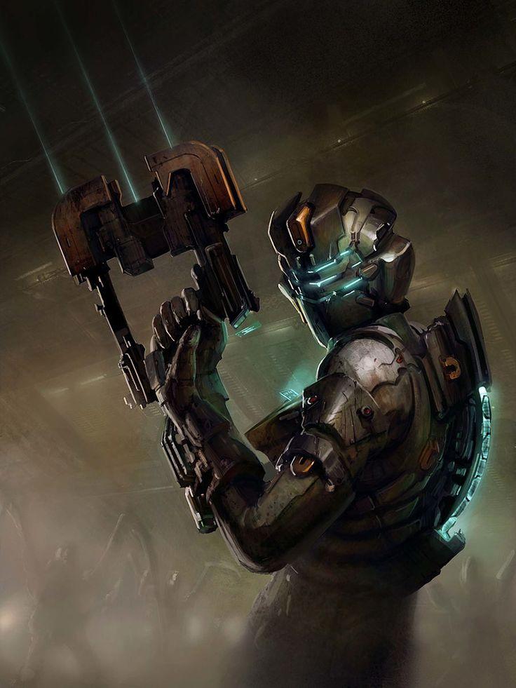 Dead Space 2 - Isaac & Plasma Cutter join us http://pinterest.com/koztar/