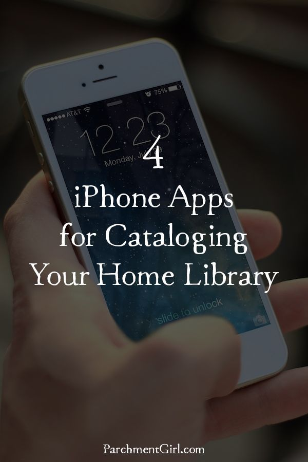 Keep track of your book collection with these handy iPhone apps!