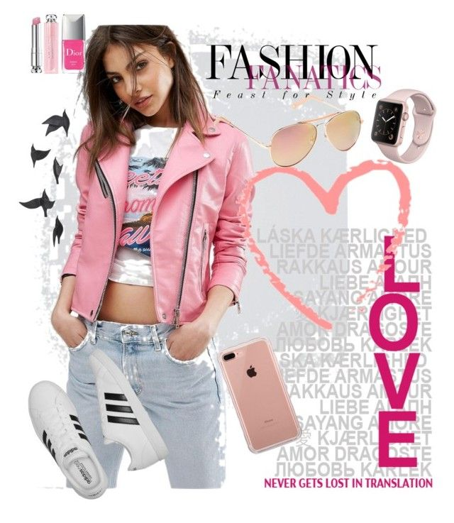 Hashtag by bubblegum13fuschia on Polyvore featuring polyvore, fashion, style, MANGO, adidas, Belkin, Gap, Christian Dior, Jayson Home and clothing