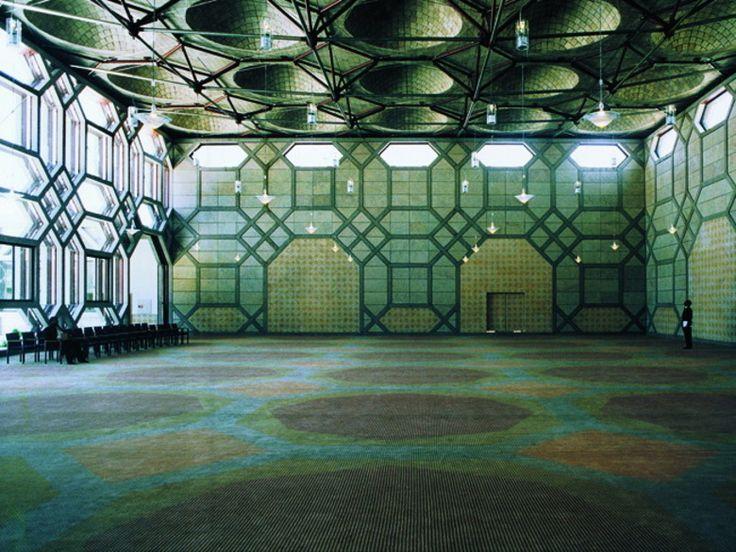 Islamisches Zentrum in Lissabon  Raj Rewal 2002