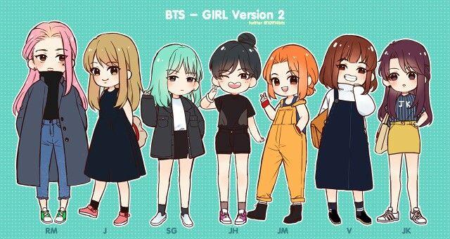 BTS ~ Girl Version 2