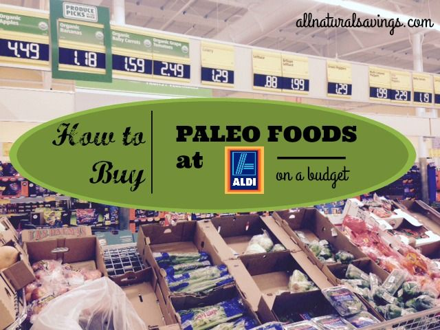 Eating Whole Foods From Aldis Menu
