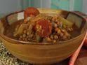 Homemade Lentil Soup - This turned out good.  Great use of leftover pork roast.  planning to add a can of stewed tomatoes to the leftovers.