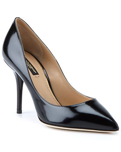 Dolce & Gabbana Patent Point-Toe Pump