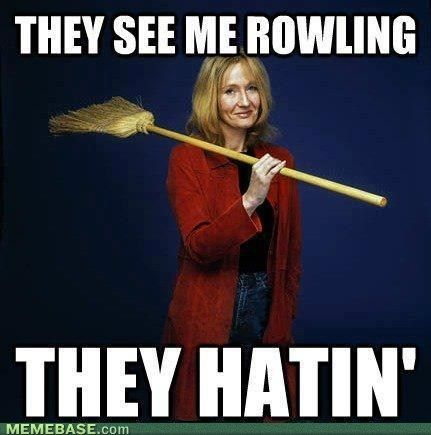 .: Stuff, Jk Rowling, Harry Potter Memes, Harry Potter Funny, The Queen, Book, Funnies, Harry Potter Humor, Funny Memes