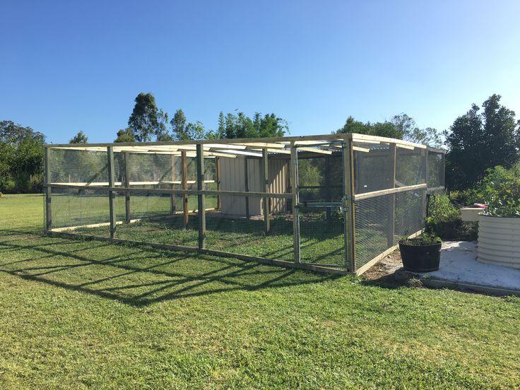Chicken coop mansion- Bears landscape maintenance