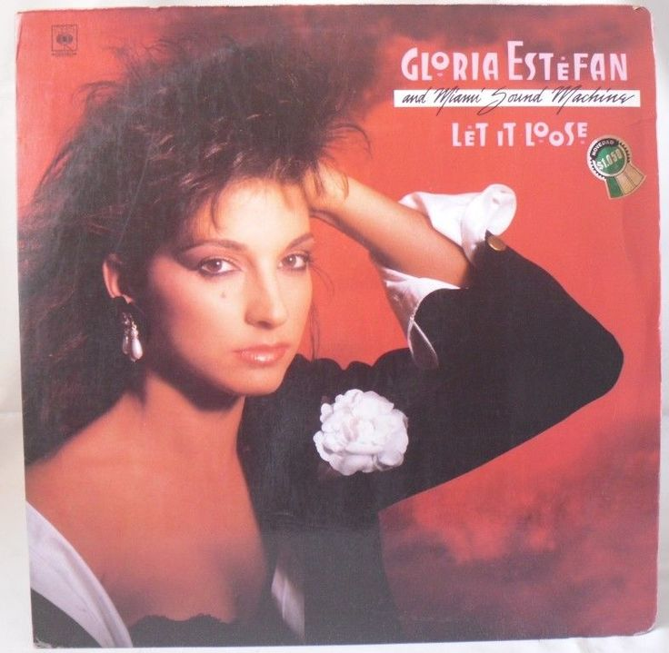 Gloria Estefan And Miami Sound Machine ‎– Let It Loose LP Hecho en Venezuela #Rumba