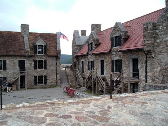 Fort Ticonderoga where Jamie, Claire and Young Ian find themselves stuck for a while.