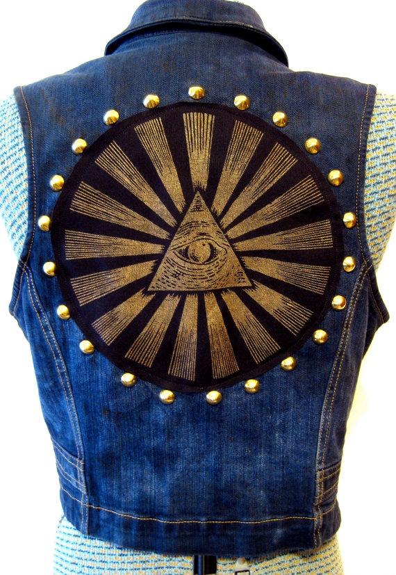 35 best magical girl punk vest images on pinterest | denim jackets