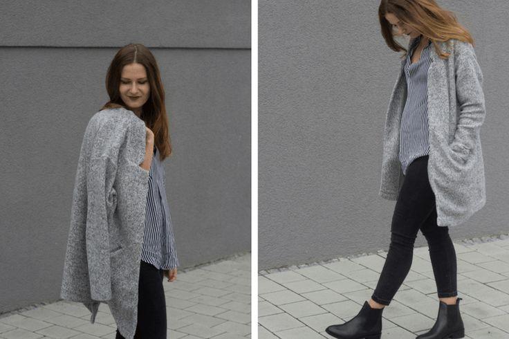 outfit zara bluse und cardigan 3 - coeurdelisa